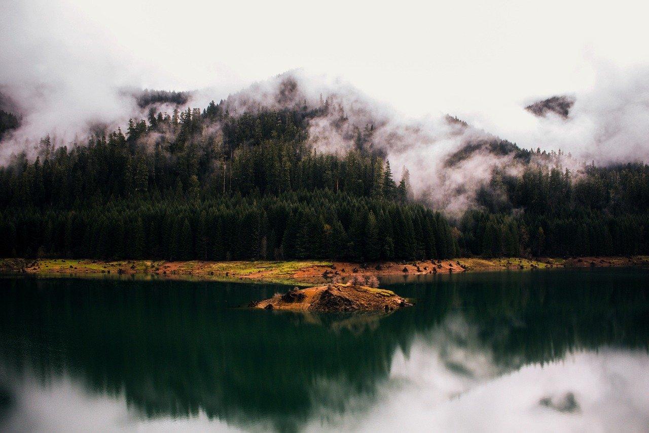 oregon, lake, water